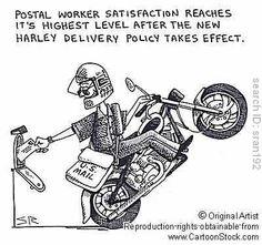 offic biker, post offic