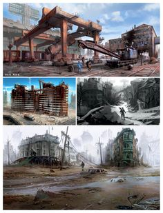 Boston Ruins from Fallout 4