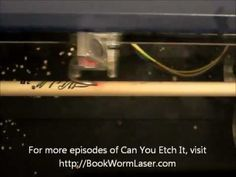 Looking for a way to dress up your drumsticks?  Laser engraving may be what you are looking for.  Check out this episode of Can You Etch It - Laser Engraved Drum Sticks