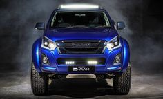 """Isuzu D-Max V-Cross """"Sapphire"""" looks smashing: Super """"limited edition-pickup truck! Virtually every Isuzu D-Max V-Cross receiver is sold in a way or otherwise by buyers. Isuzu now began to arrive with a modified, modified D-Max V-Cros. Trucks For Sale, Pickup Trucks, Birmingham, Isuzu D-max, Rodeo, Isuzu Motors, Lazer Lights, Off Road Tires, Truck Tyres"""