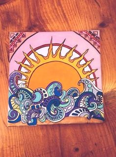 New Trippy Art Painting Canvases Ideas Cute Canvas Paintings, Small Canvas Art, Mini Canvas Art, Painting Canvas, Hippie Painting, Trippy Painting, Trippy Drawings, Art Drawings, Kunst Inspo