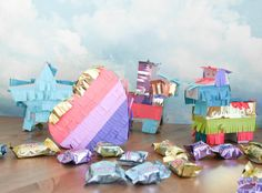 Mini Pinatas by Wendy Antenucci for We R Memory Keepers Mini Pinatas, We R Memory Keepers, Diy Party, Hello Everyone, Craft Projects, Memories, Blog, Kids, Crafts