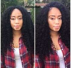 Crochet braids- deep wave