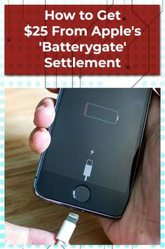 "Did your iPhone get ensnared in ""Batterygate?"" Well, you can now submit a claim to receive $25 from Apple."