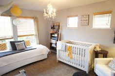 With the exception of the crib, everything else could be used somewhere other than a baby's room.