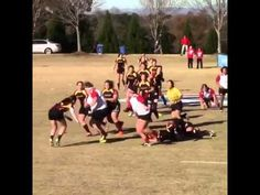 Big Hit During Women's Rugby Game Would Make The Beastmode Proud (Video) - Radass.com