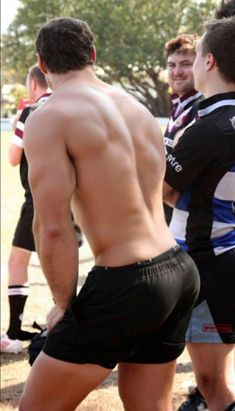 rugby booty