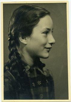 Vintage Photo Portrait of a girl - Germany - 1930s by Patrick Bradley 70, via Flickr