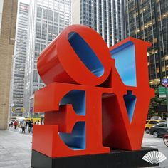 LOVE by Robert Indiana. 55th at Sixth Avenue. August 2015. ‪#‎MyViewYork‬ Photo: @CXCArtist. ‪#RobertIndiana #Love