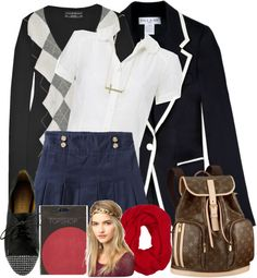 """""""aledale uniform #2"""" by annabelle-lewis ❤ liked on Polyvore"""