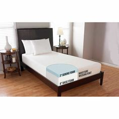 "Comfort Tech 10"" Serene Foam Twin XL Mattress"