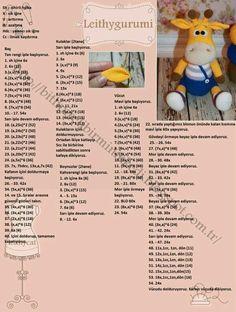 Amigurumi örgü oyuncak askılı