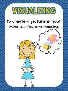 Comprehension Strategy Posters (free!)--these are awesome--going to print and laminate for next year!