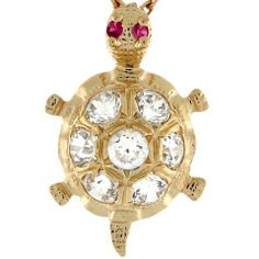 10k Real Yellow Gold Stunning Sea Turtle CZ Charm Pendant Jewelry Liquidation. $88.51. Made in USA!. Made with Real 10k Gold!. Save 78%!