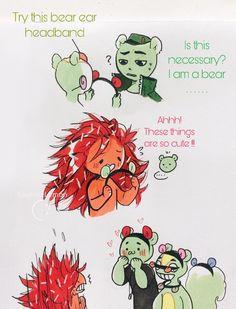Happy Tree Friends Flippy, Happy Friends, Friend Cartoon, Friend Anime, Happy Teens, Htf Anime, Casa Anime, Teen Friends, Mini Comic