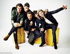 Harry Styles, Zayn Malik, Liam Payne, Louis Tomlinson and Niall Horan