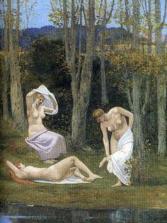 Pierre Puvis de Chavannes 'Summer' 1891 #art