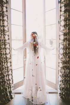 Boho Wedding Veil
