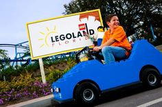"""Ford Driving School at LEGOLAND Florida is a """"real-life"""" driving experience for children ages 6 through 13, where kids receive their official LEGOLAND driver's license."""