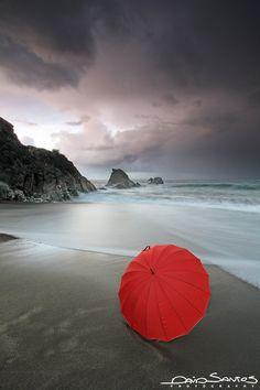 Red Umbrella  by David Santos Photography, via 500px