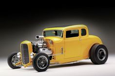 Scott talked about doing a 1932 Ford Five-Window Coupe with Squeeg's Kustoms owner Doug Jerger, wanting a real '62 California vibe, so they got to work.