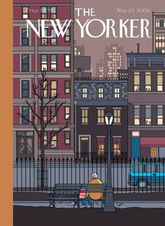 The New Yorker Cover by Chris Ware