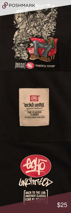 """90's Vintage Ecko """"Power Potion"""" T-Shirt Great condition 90's Vintage Ecko """"Power Potion"""" T-Shirt. As seen as in pictures Ecko Unlimited Shirts Tees - Short Sleeve"""