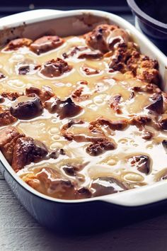 Recipe Including Course S Dessert And Ingredients Butter Cinnamon Doughnuts Egg Kosher Salt Milk Su Pudding Recipes Bread Pudding Donut Bread Pudding