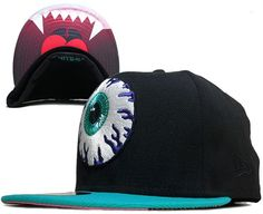 Mishka Eyeball Snapback Caps from Unique Boutique on Storenvy c9c3d0eb960a