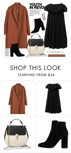"""""""YesStyle - 10% off coupon"""" by merima-kopic ❤ liked on Polyvore featuring Hedi Slimane, MANGO, Fall and yesstyle"""
