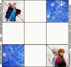 Cumpleaños de Frozen: Cajas para Imprimir Gratis.   Ideas y material gratis para fiestas y celebraciones Oh My Fiesta!