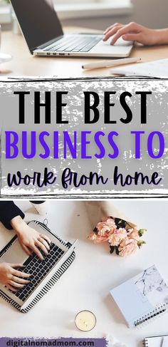 There are tons of online business opportunities, but what is the BEST business to work from home? Learn about my recommendations for working from home. Work From Home Jobs, Make Money From Home, How To Make Money, Best Business To Start, Starting A Business, Online Careers, Learning Patience, Online Business Opportunities, Passive Income Streams
