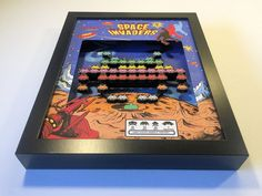 These Arcade Game Shadow Boxes are Simply Awesome - Technabob