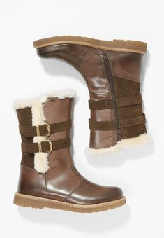 Friboo - Stiefelette - dark brown Boots, Winter, Fashion, Dark Brown, Get Tan, Leather, Crotch Boots, Winter Time, Moda
