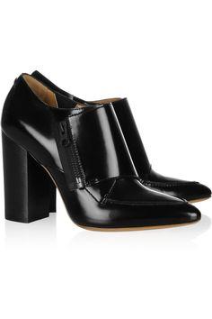 3.1 Phillip Lim|Delia patent-leather monk-strap ankle boots