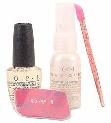 OPI - Manicure Must Haves by OPI. $22.20. Detailed Description OPI - Manicure Must Haves If you must have younger-looking hands and beautiful nails, you must have these proven performers from OPI! Contents: 1 - 25 mL - .85 Fl. Oz. Manicure by OPI Rejuvenating Serum- Age defying hand serum with Grape Seed and Licorice Extracts. 1 - 15 mL - 1/2 Fl. Oz. OPI Natural Nail Strengthener- Builds in layers of protection for natural nails. 1 - OPI Emery Square 1 - Cuticle Stick.