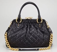 Marc Jacobs Discontinues the Stam Bag, All Quilted Leather Goods