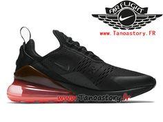 08d5992a166 Chaussures Homme Nike Air Max 270 Prix Pas Cher Noir Rose AH8050-010-Tenez