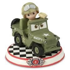 Disney Precious Moments Cars - Sarge