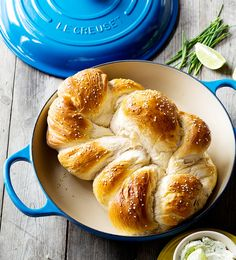 Plaited Bread - Le Creuset Recipes
