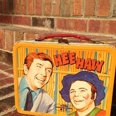 Vintage 1970 Hee Haw Lunch Box