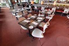 Pikaia chair by Kristalia @ Flying Fish Restaurant, Seattle (US) #chair #interiordesign #restaurant #design