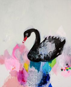 among my swan  - miranda skoczek