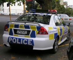 Police Cars from around the world - Holden
