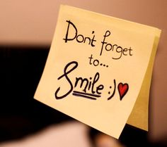 nice Dont Forget Smile Wallpaper