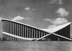 Dorton Arena, Raleigh, NC (1950), Matthew Nowicki