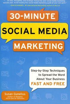 30-Minute Social Media Marketing Book