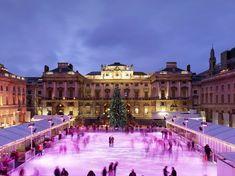 Somerset House ice rink London