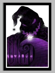 Nightmare Before Christmas Poster | redditgifts
