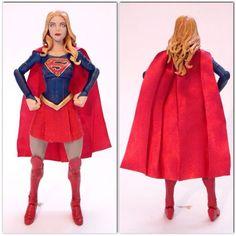 Supergirl (Melissa Benoist) (DC Universe) Custom Action Figure